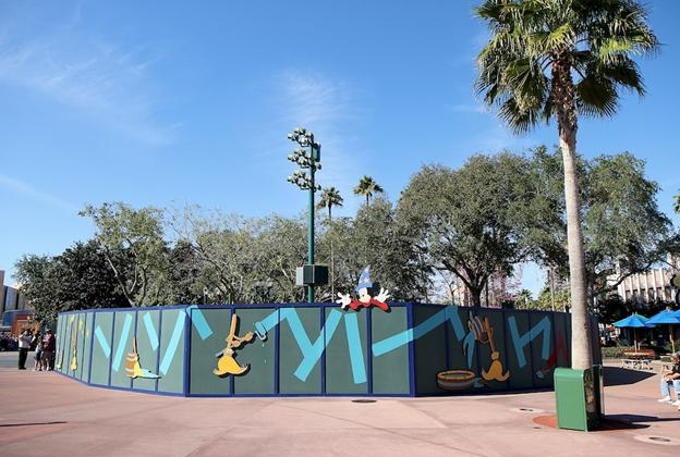 New Studios Meet and Greet location construction