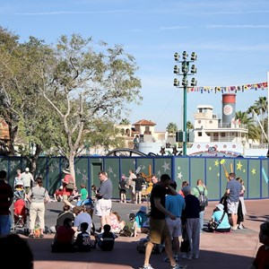 3 of 3: Character Meet and Greets at Disney's Hollywood Studios - New Studios Meet and Greet location construction