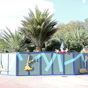 2 of 2: Character Meet and Greets at Disney's Hollywood Studios - New Studios Meet and Greet location trees