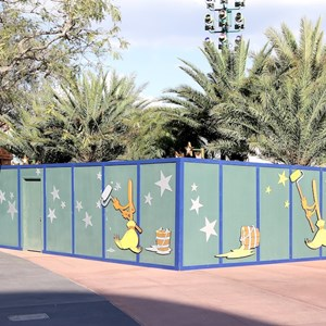1 of 2: Character Meet and Greets at Disney's Hollywood Studios - New Studios Meet and Greet location trees