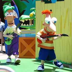 5 of 8: Character Meet and Greets at Disney's Hollywood Studios - Phineas and Ferb meet and greet