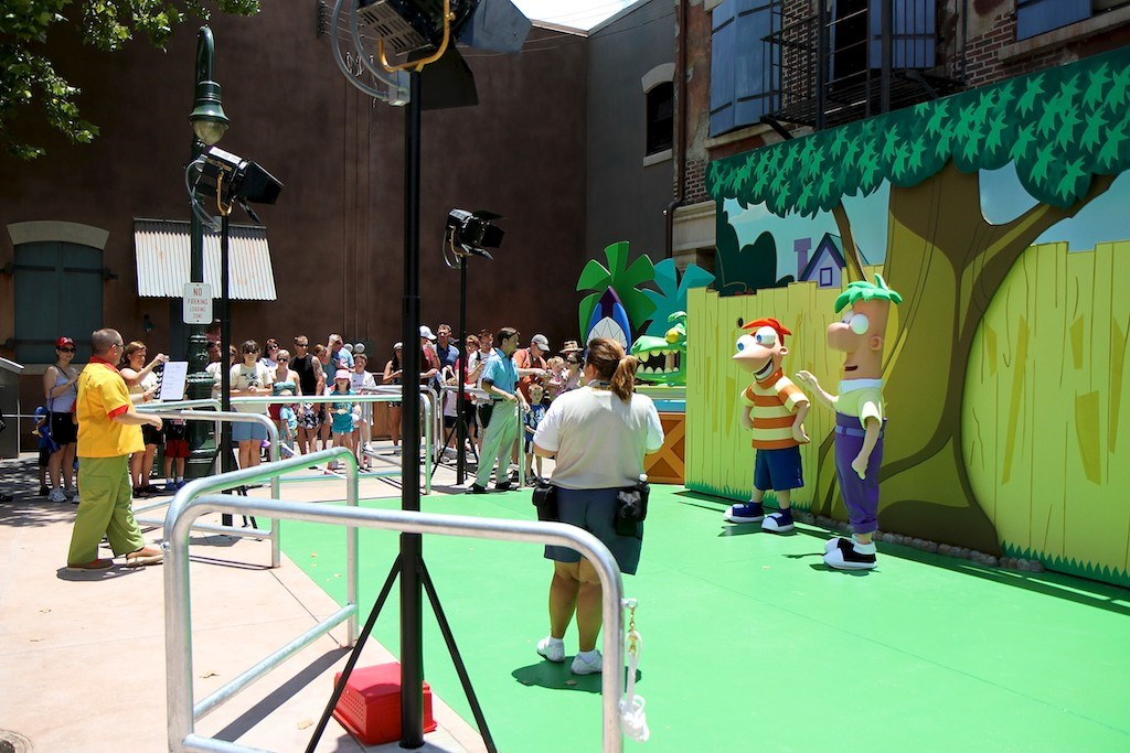 Phineas and Ferb meet and greet