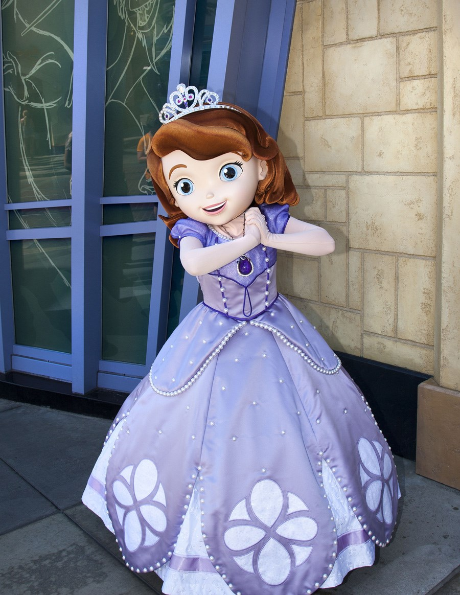 Sofia the First meet and greet