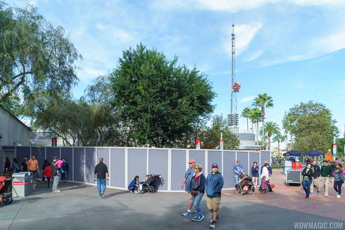 Meet and greet construction near Star Tours