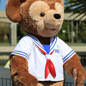 11 of 44: Character Meet and Greets at Epcot - Duffy makes his very first appearance in Walt Disney World!