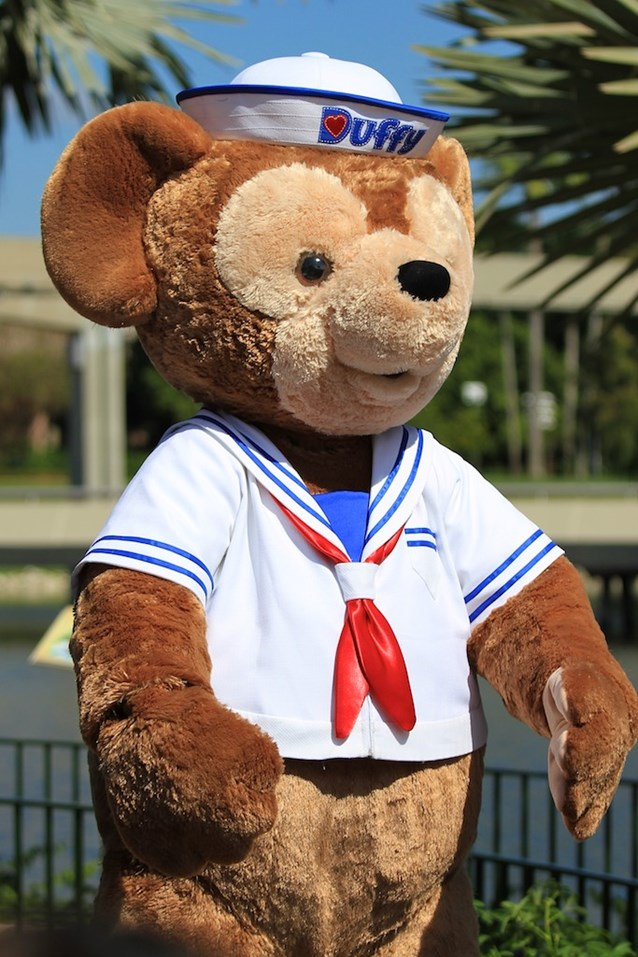 Character Meet and Greets at Epcot - Duffy makes his very first appearance in Walt Disney World!