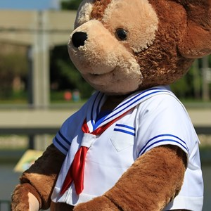 12 of 44: Character Meet and Greets at Epcot - Duffy Meet and Greet opening ceremony