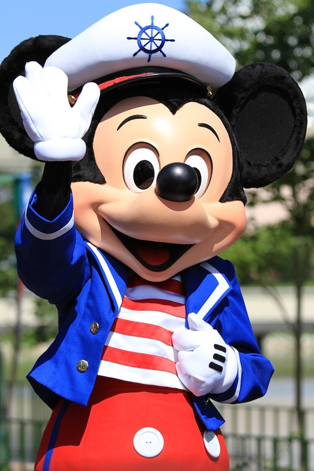 Character Meet and Greets at Epcot - Sailor Mickey joins the festivities