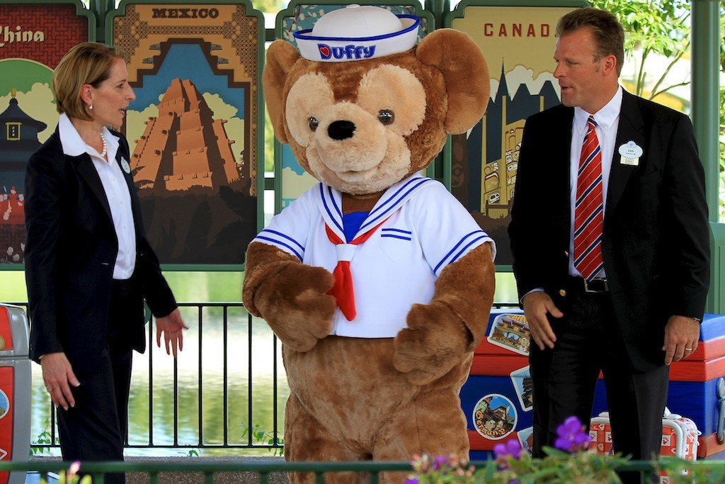 Duffy Meet and Greet opening ceremony
