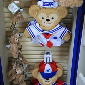 38 of 44: Character Meet and Greets at Epcot - Duffy Meet and Greet opening ceremony