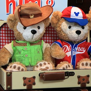 37 of 44: Character Meet and Greets at Epcot - Duffy Meet and Greet opening ceremony