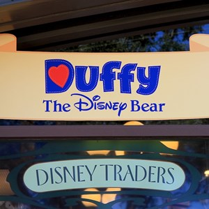 40 of 44: Character Meet and Greets at Epcot - Duffy Meet and Greet opening ceremony