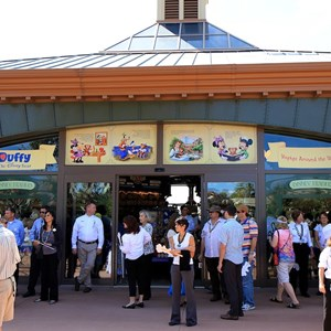 28 of 44: Character Meet and Greets at Epcot - Disney Traders is home to all the Duffy merchandise