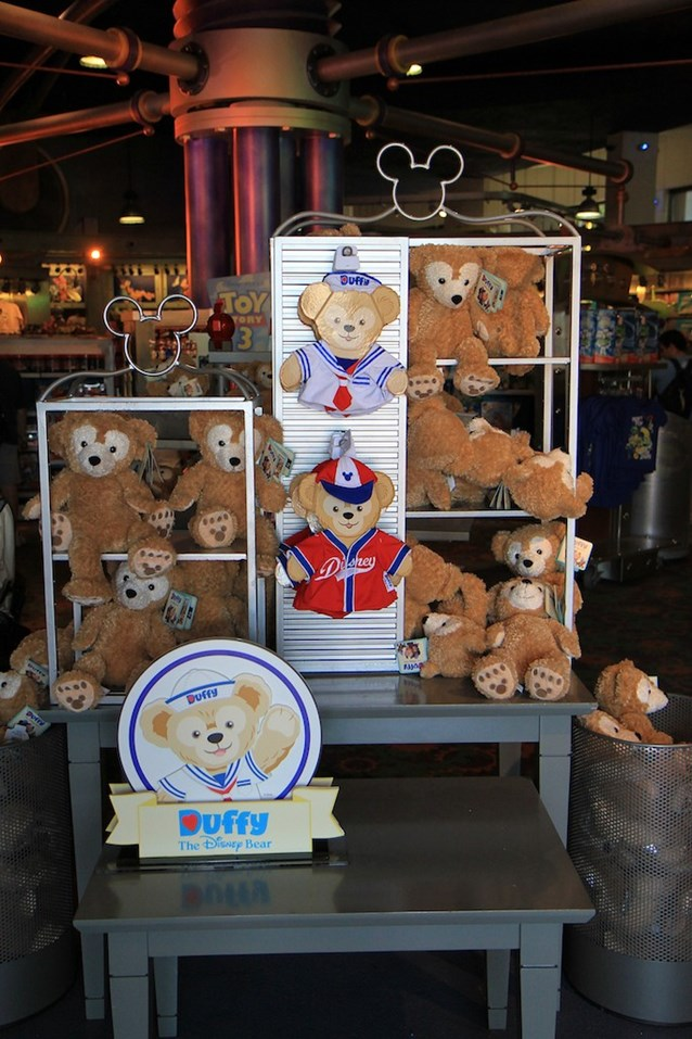Character Meet and Greets at Epcot - Duffy merchandise in Mouse Gear
