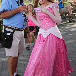 New look for Princess Aurora