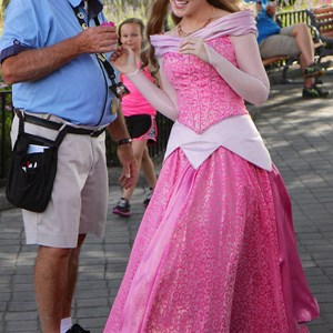 1 of 3: Character Meet and Greets at Epcot - New look for Princess Aurora