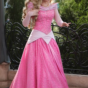 3 of 3: Character Meet and Greets at Epcot - New look for Princess Aurora