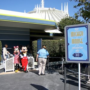 2 of 7: Character Meet and Greets at the Magic Kingdom - Post Toontown Fair closing - Mickey Mouse meet and greet locations