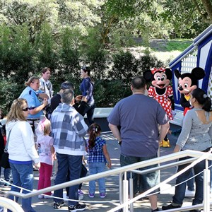 4 of 7: Character Meet and Greets at the Magic Kingdom - Post Toontown Fair closing - Mickey Mouse meet and greet locations