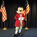 Character Meet and Greets at the Magic Kingdom - Mickey meet and greet inside Hall of Presidents, Liberty Square