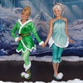 Character Meet and Greets at the Magic Kingdom - Tinker Bell and Periwinkle