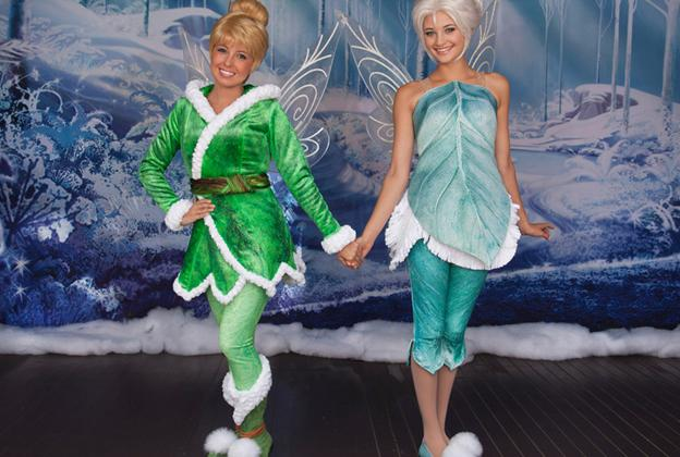 Frost Fairy Periwinkle joining Tinker Bell's Magical Nook