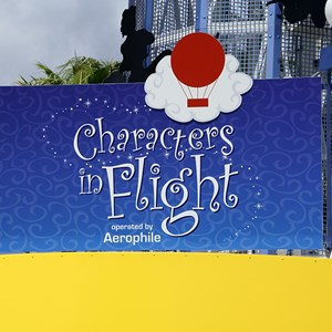 5 of 6: Characters in Flight - Characters in Flight construction