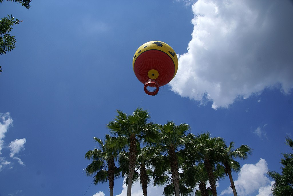 Characters in Flight in the air