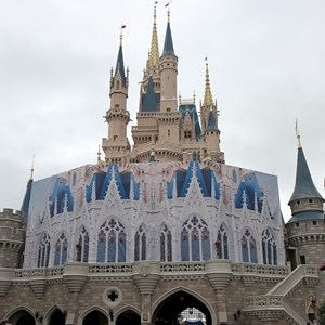 1 of 1: Cinderella Castle - Castle Fantasyland refurbishment