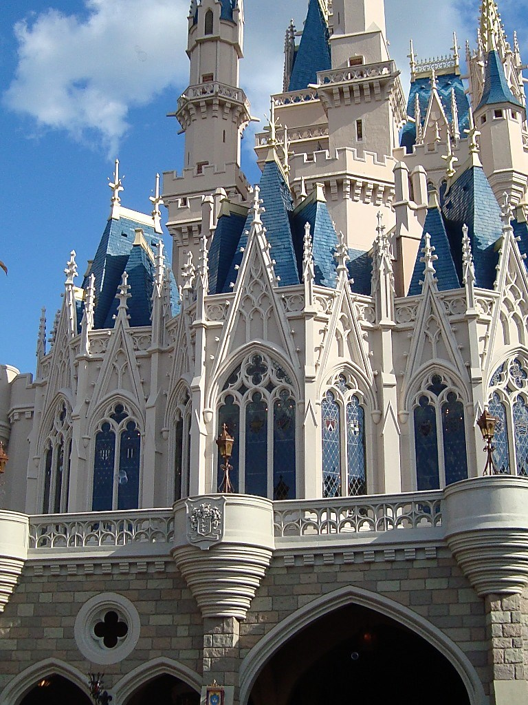 Castle Fantasyland side refurbishment complete