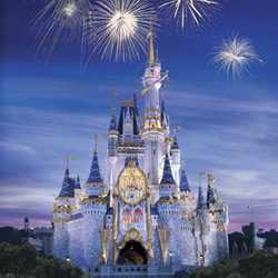 Cinderella Castle Happiest Celebration on Earth overlay concept art