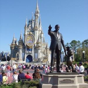 1 of 8: Cinderella Castle - Cinderella Castle overlay now complete
