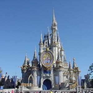 2 of 8: Cinderella Castle - Cinderella Castle overlay now complete