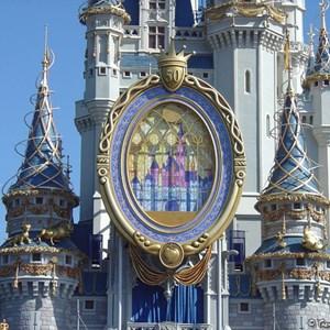 3 of 8: Cinderella Castle - Cinderella Castle overlay now complete