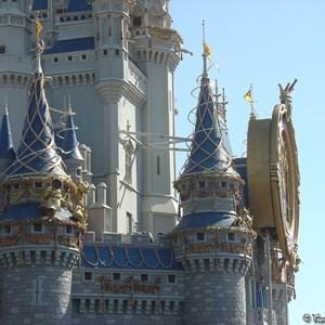 6 of 8: Cinderella Castle - Cinderella Castle overlay now complete