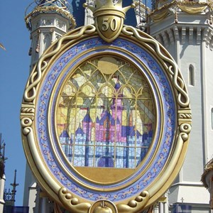 7 of 8: Cinderella Castle - Cinderella Castle overlay now complete