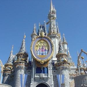 8 of 8: Cinderella Castle - Cinderella Castle overlay now complete