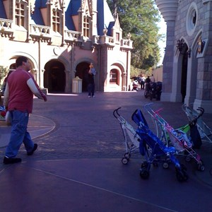 7 of 8: Cinderella Castle - Cinderella Castle refurbishment