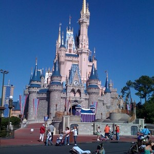2 of 8: Cinderella Castle - Cinderella Castle refurbishment