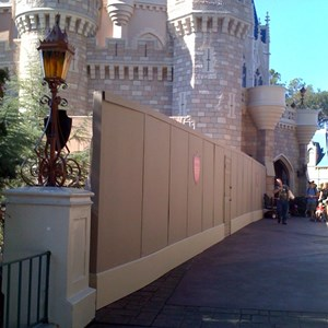 6 of 8: Cinderella Castle - Cinderella Castle refurbishment