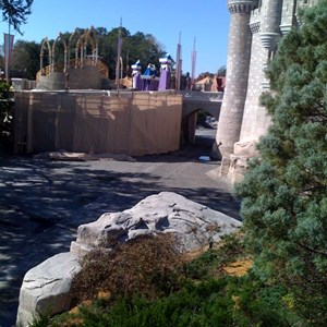 3 of 8: Cinderella Castle - Cinderella Castle refurbishment