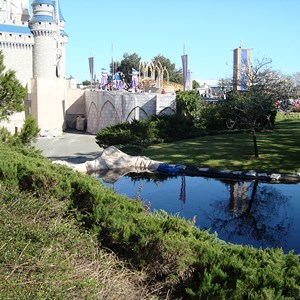 2 of 6: Cinderella Castle - Cinderella Castle refurbishment