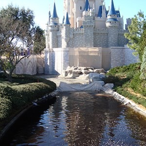 5 of 6: Cinderella Castle - Cinderella Castle refurbishment