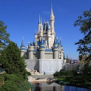 1 of 2: Cinderella Castle - Cinderella Castle refurbishment