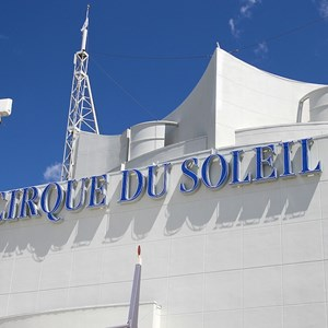 1 of 2: Cirque du Soleil - Refurbished sign returns
