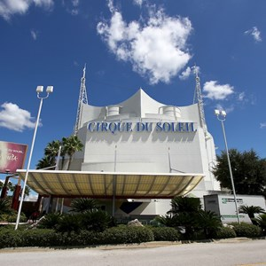2 of 2: Cirque du Soleil - Refurbished sign returns