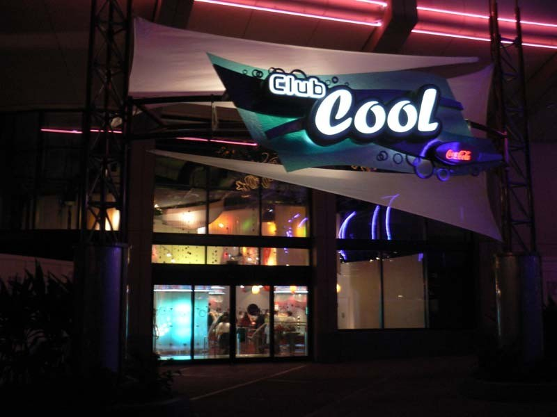 Club Cool beverages