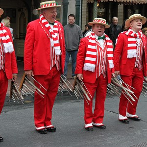 1 of 2: Dapper Dans - Dapper Dans holiday performance