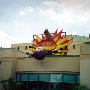 1 of 2: Dinosaur - New look Dinosaur building