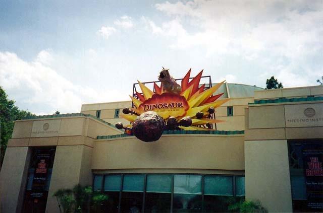 New look Dinosaur building